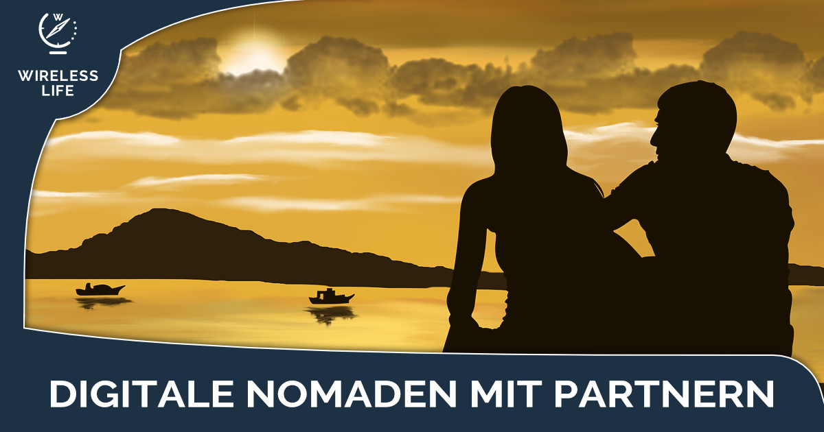 Digitale Nomaden mit Partner